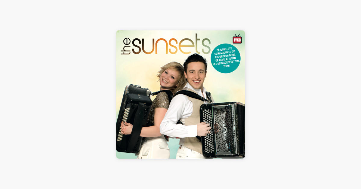 the sunsets accordeon toppers