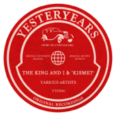 The King And I' & 'Kismet'