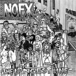 nofxの the longest line ep をapple musicで