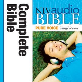 Pure Voice Audio Bible - New International Version, NIV (Narrated by George W. Sarris): Complete Bible (Unabridged) audiobook