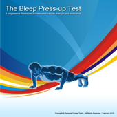 The Bleep Press-up Test