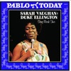 Sarah Vaughan: The Duke Ellington Songbook, Vol. 2, Sarah Vaughan