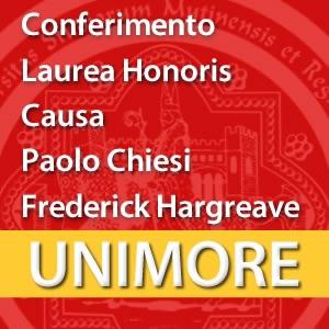 Conferimento Laurea Honoris Causa a Paolo Chiesi e Frederick Hargreave [Video]