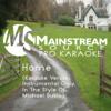 Home (Karaoke Version) [Originally Performed by Michael Buble] - Mainstream Source Pro Karaoke