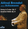 Schumann: Fantasy in C Minor, Op. 17 & Symphonic Studies, Op. 13 ジャケット写真