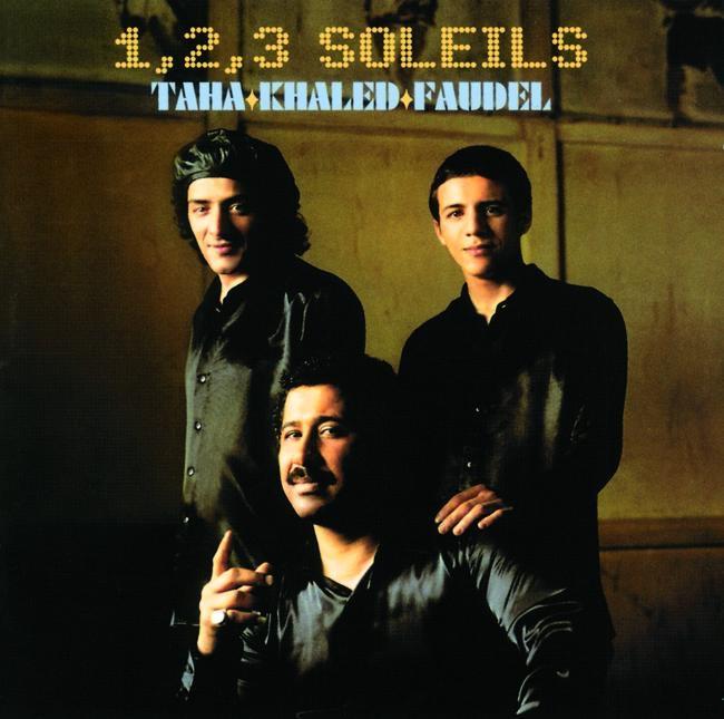 1 2 3 Soleils Live à Bercy Faudel Khaled  Rachid Taha CD cover
