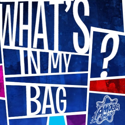 What's in my bag podcast art