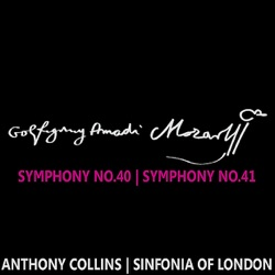 Album: Mozart Symphonies Nos 40 41 by Sinfonia of London