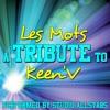 Les mots (A Tribute to Keen'V) - Single, Studio All-Stars