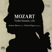 Richard Egarr - Sonata in F Major, K. 377 : I. Allegro