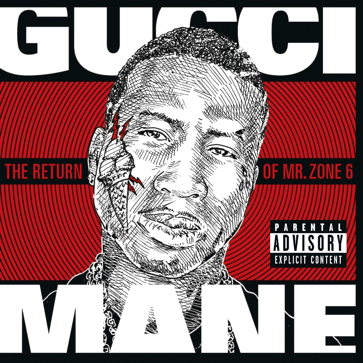 The Return of Mr  Zone 6 Album Cover by Gucci Mane