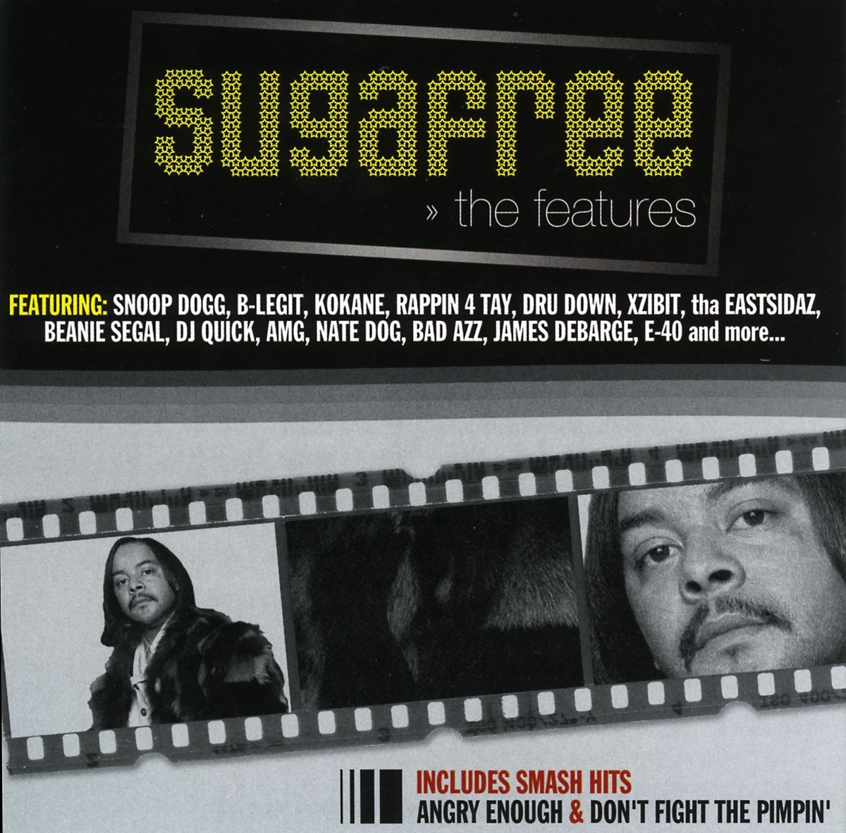 Suga Free: The Features, Vol  1 Album Cover by Suga Free
