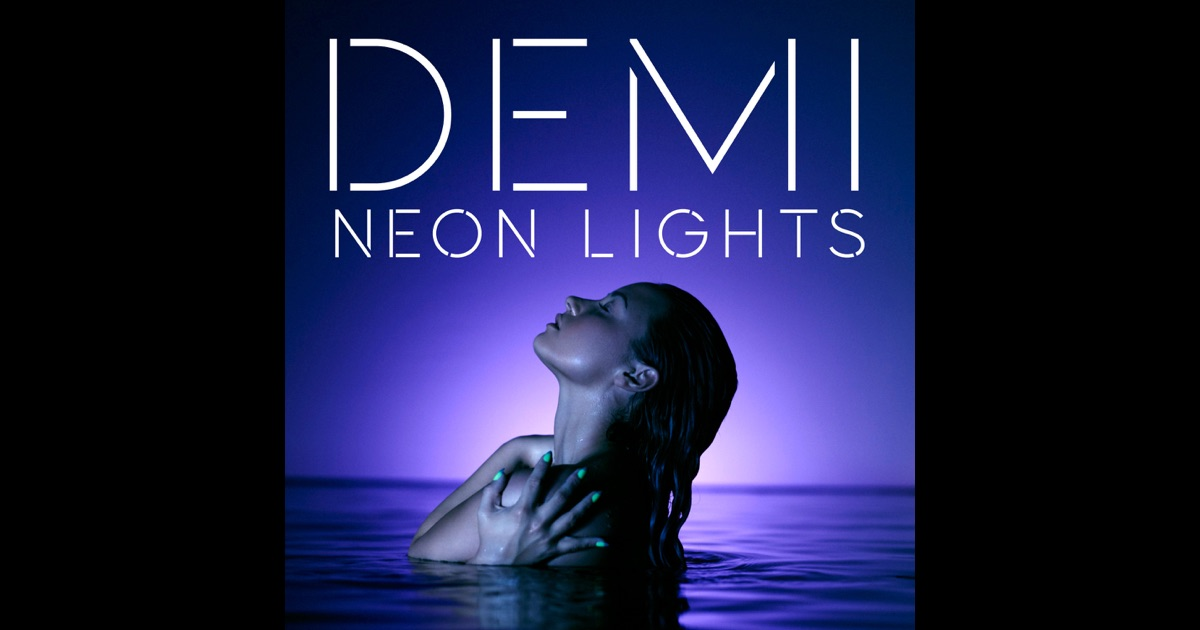 neon lights demi lovato album wwwimgkidcom the image