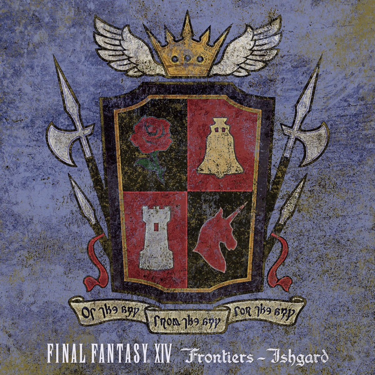 FINAL FANTASY XIV Frontiers - Ishgard Album Cover by Square Enix Music