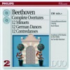 Beethoven Complete Overtures 12 Minuets 12 German Dances 12 Contredances