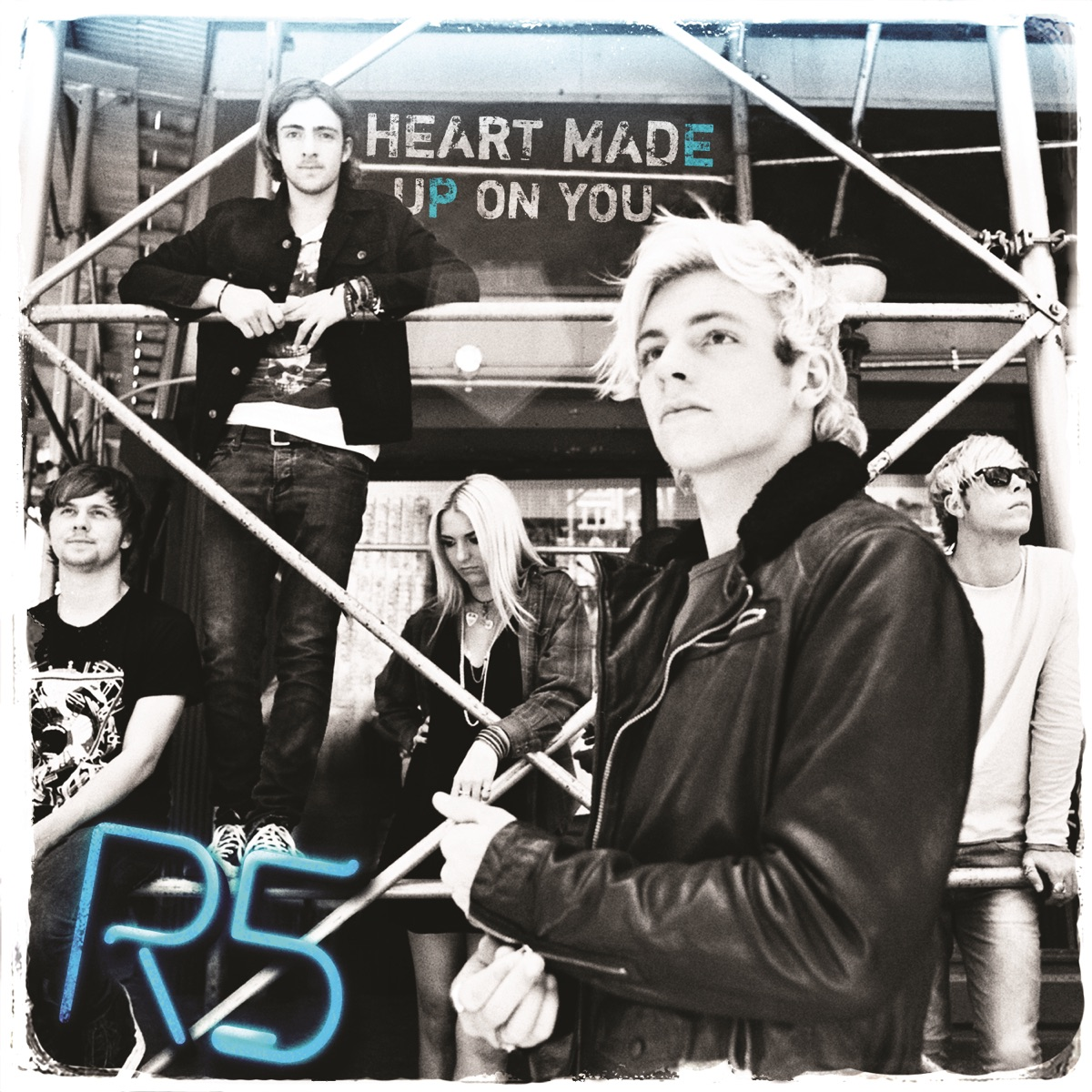 Heart Made Up On You - EP R5 CD cover