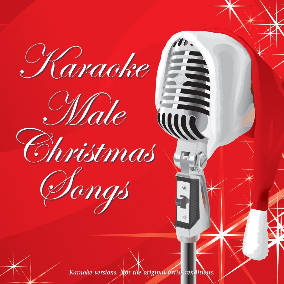 Karaoke - Male Christmas Songs Album Cover by Ameritz - Karaoke
