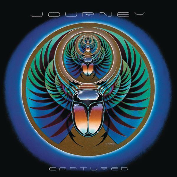 Captured Live Journey CD cover