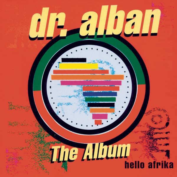 Hello Afrika Album Cover By Dr  Alban