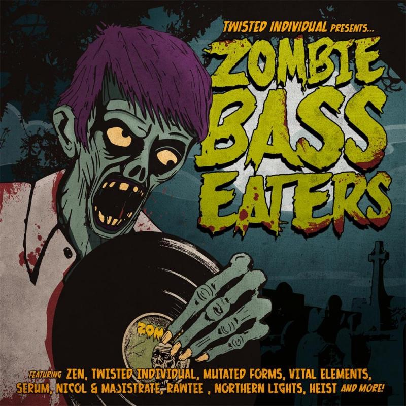 Zombie Bass Eaters Vol 1 Various Artists CD cover
