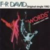 Words (Original Single 1982) - Single