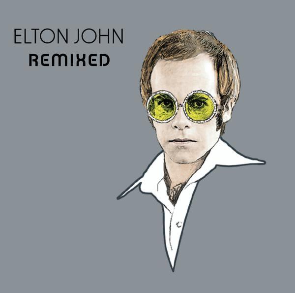 Remixed - EP Elton John CD cover