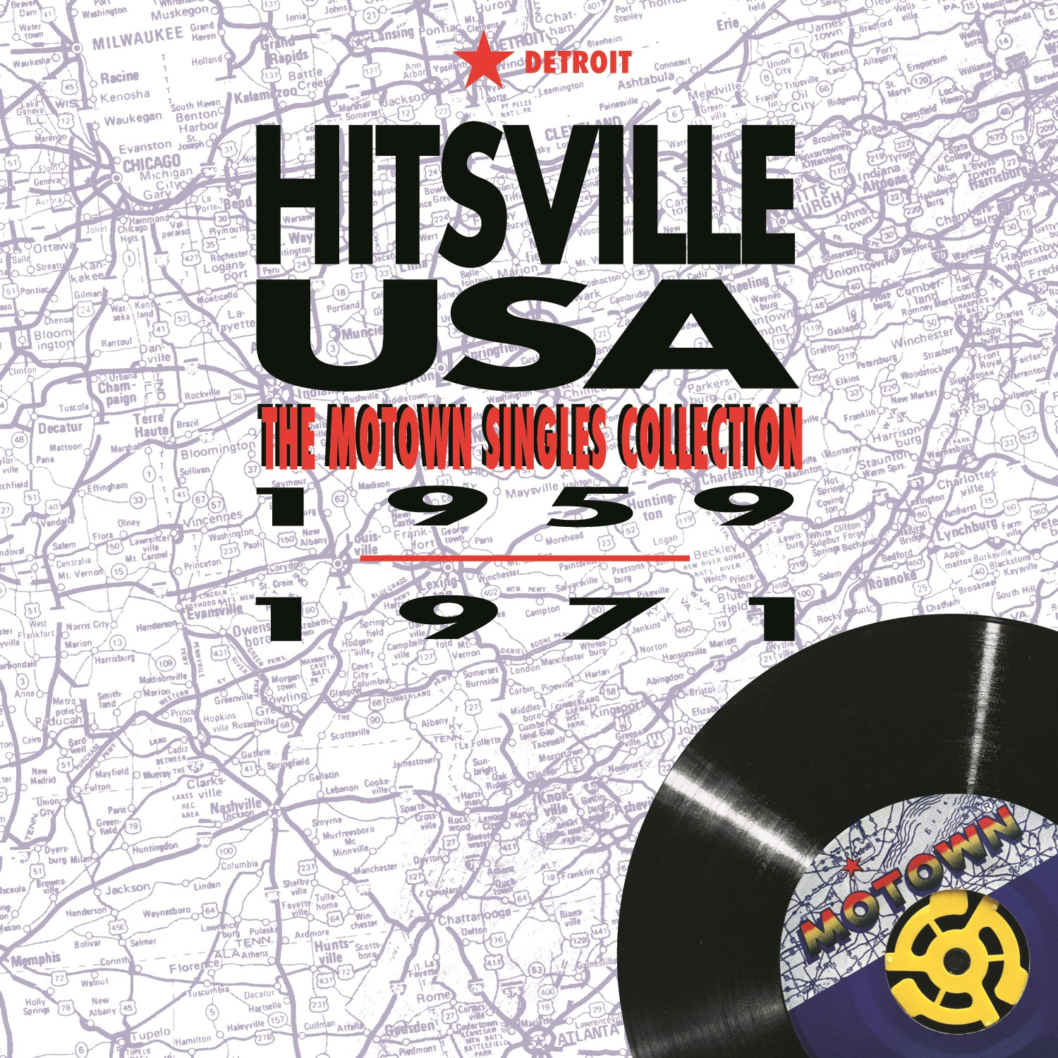 Various - Motown Hits Of Gold Volume 4