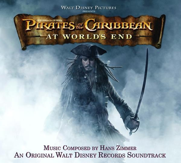 Pirates of the Caribbean At Worlds End Soundtrack from the Motion Picture Hans Zimmer CD cover
