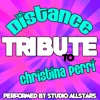 Distance (Tribute to Christina Perri) - Single, Studio All-Stars