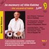 In Memory of Alla Rakha - The Wizard of Tabla, Vol. 1 ジャケット写真