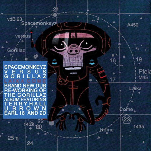 Gorillaz & Space Monkeyz - Laika Come Home