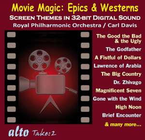 Royal Philharmonic Orchestra & Carl Davis - Movie Magic: Epics & Westerns