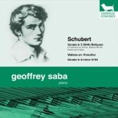 Geoffrey Saba - Sonata in a Minor, D784:3. Allegro vivace