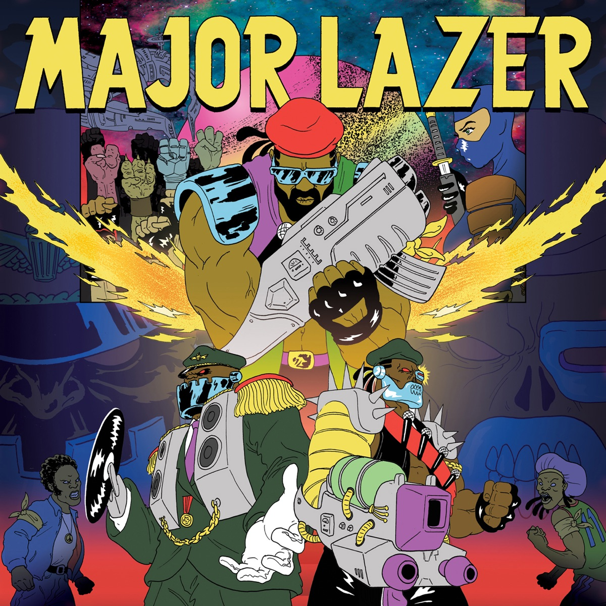Free the Universe Extended Version Major Lazer CD cover