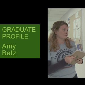 Amy Betz, Ph.D. Candidate, Mechanical Engineering