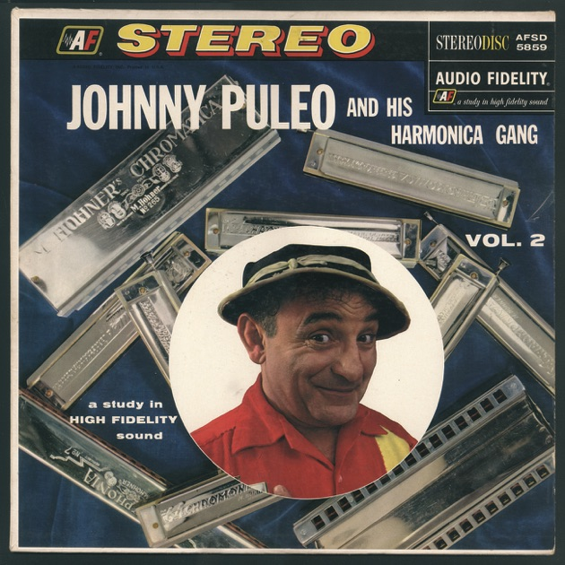 Johnny Puleo And His Harmonica Gang - Harmonica Gold