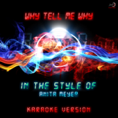 Why Tell Me Why (In the Style of Anita Meyer) [Karaoke Version]