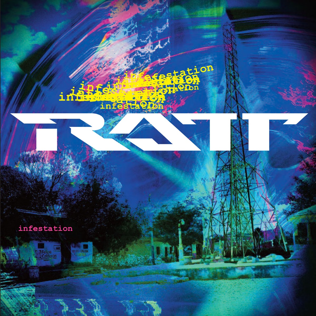 Infestation Special Edition Ratt CD cover