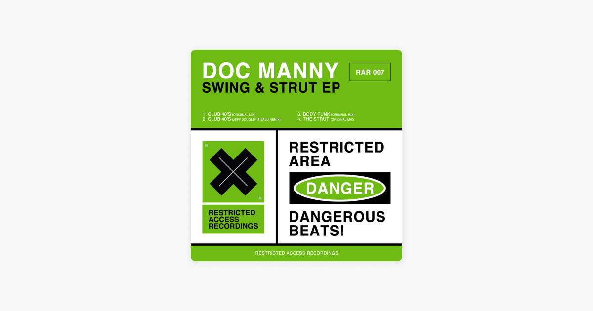 ‎Swing & Strut - EP by Doc Manny