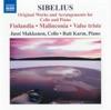 シベリウス: チェロとピアノのための作品集