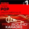 Sing Tenor Pop, Vol.1 (Karaoke Performance Tracks)
