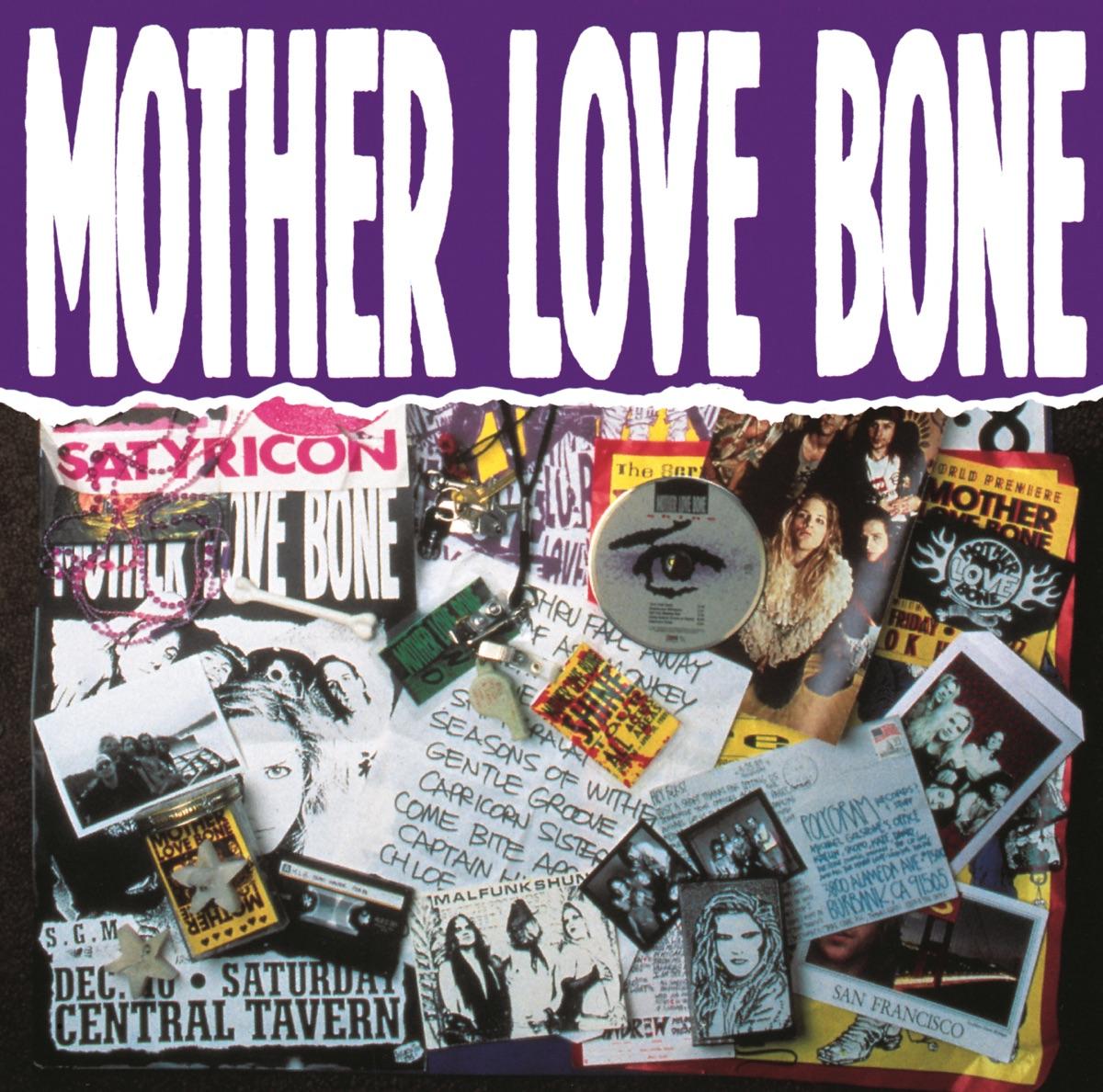 Mother Love Bone Mother Love Bone CD cover