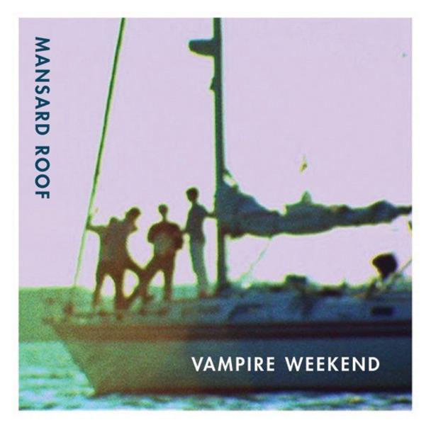 Mansard Roof - Single Vampire Weekend CD cover