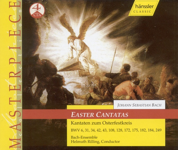 Bach, J.S.: Cantatas (Easter) - Bwv 6, 31, 34, 42, 43, 108, 128, 172, 175, 182, 184, 249
