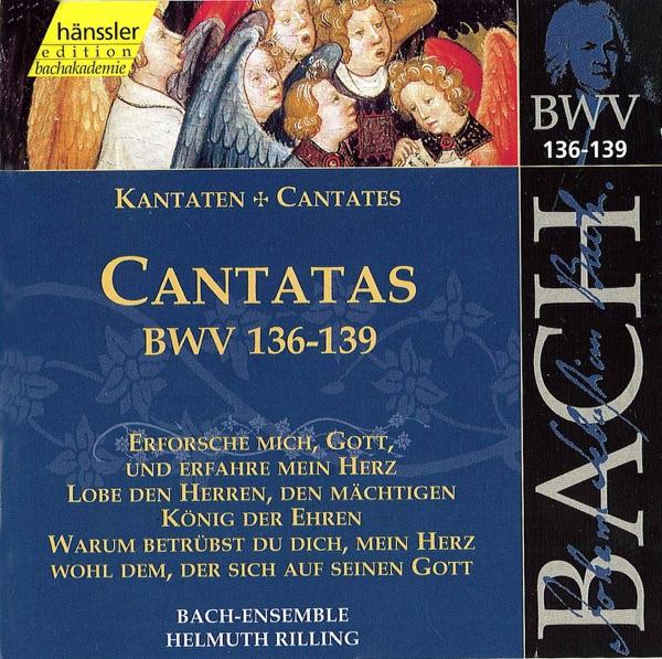 Bach, J.S.: Cantatas, Bwv 136-139