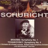 Brahms: Synphony No. 1: Tchaikovsky: Symphony No. 4 ジャケット写真
