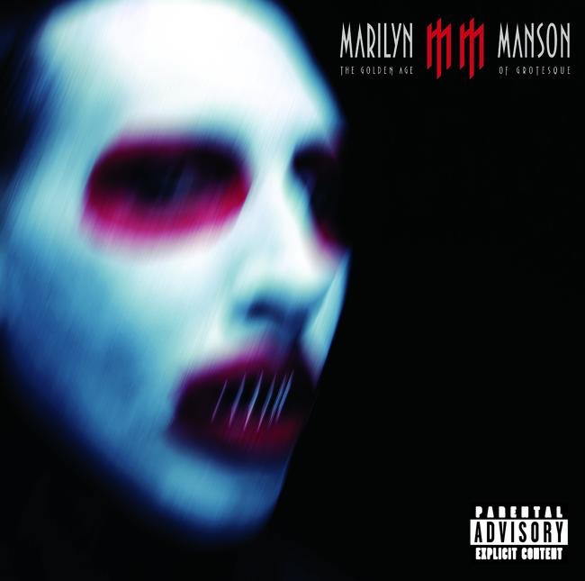 The Golden Age of Grotesque Marilyn Manson CD cover