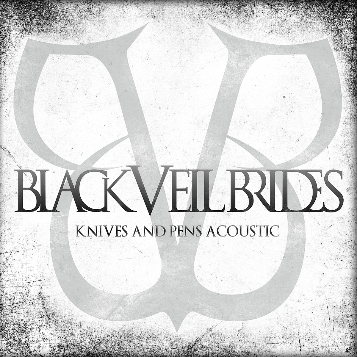 Knives and Pens Acoustic - Single Black Veil Brides CD cover