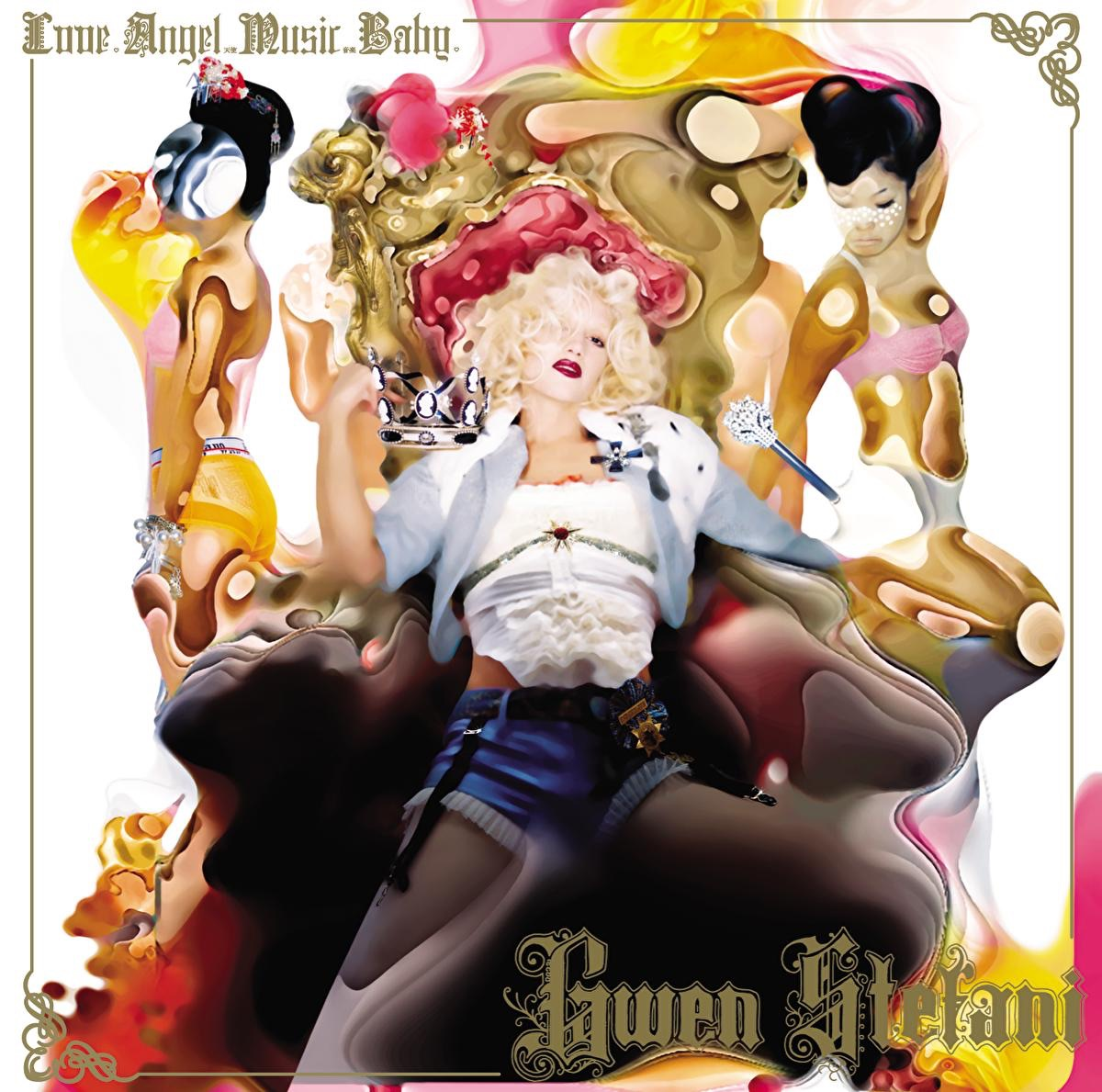 Love Angel Music Baby Gwen Stefani CD cover