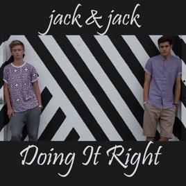 doing it right single de jack jack no apple music